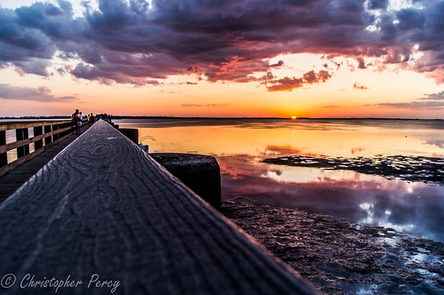 sunset sky reflection beach colors beautiful landscape pier amazing dock florida sony kitlens waterscape sonyalpha sonykitlens sonyslta35 sonya35 vigilantphotographersunite