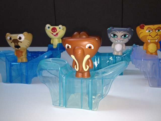 Ice Age 4 Happy Meal Toys Manny Amp Friends We Might Be