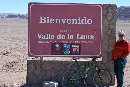 Valle de la Luna Entrance