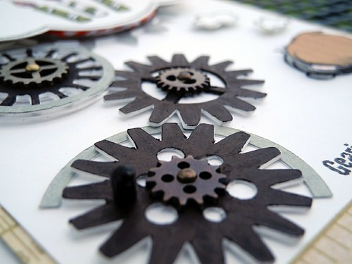 Close Up on the Gears