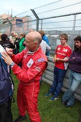 Volker Strycek bei der Autogrammstunde