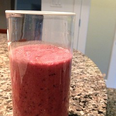 It\'s a smoothie morning thanks to @kitchenaidUSA #thanks!