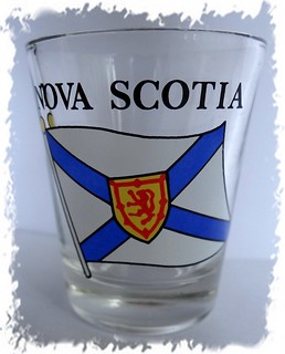 Nova Scotia shotglass