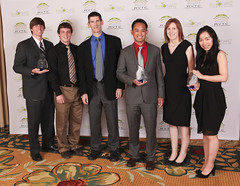 "MathWorks presents Mississippi State, Ohio State University, and University of Victoria the ""MathWorks Modeling"" awards"