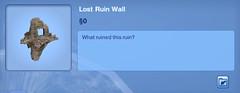 Lost Ruin Wall