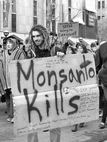March Against Monsanto - May 2013 - Monsanto kills by Wanderfull1