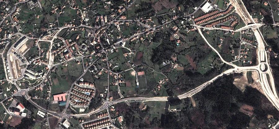 Oleiros, A Coruña, Galicia, Galiza, después, urbanismo, planeamiento, urbano, desastre, urbanístico, construcción, rotondas, carretera
