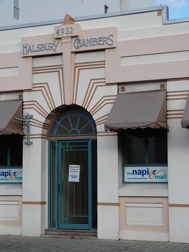 Halsbury Chambers, Napier