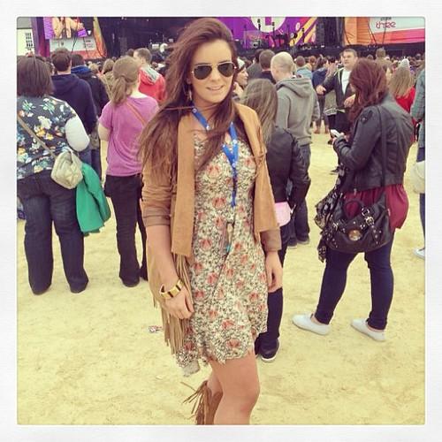 Look Two #radioone #onebigweekend #obw #BigWeekend #derry #londonderry #festival #fringe #suede #floral