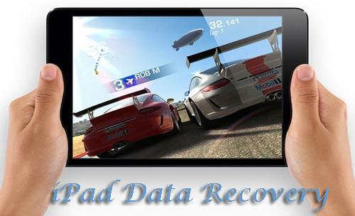 iPad data recovery