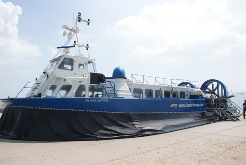 Hovercraft to Isle of Wight
