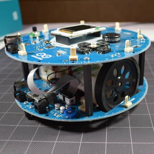 Arduino robot review let s make robots robotshop