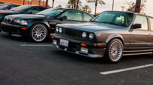 BMW M3 E46 and 325i E30
