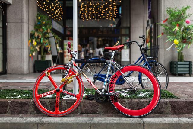 20130704_02_Tokyo Ginza Marunouchi Bicycle
