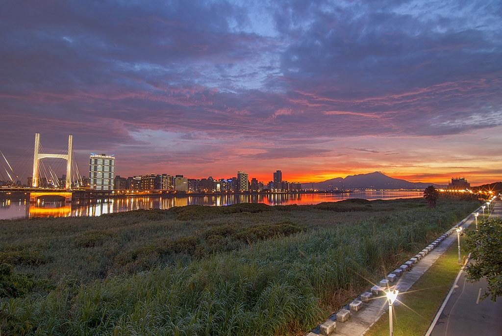 2013.07.05 重陽橋夕燒