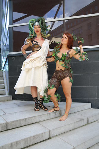 Medusa and Daphne