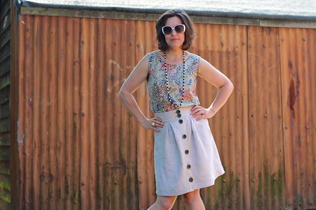 Handmade Wardrobe 2013: Bonus Outfit