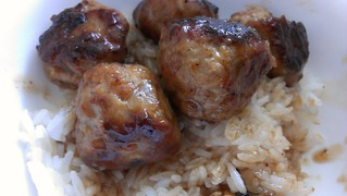 Teriyaki Sauce Chicken Balls