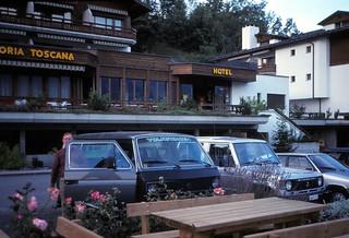 Switzerland   -   Laax    -   Sport Hotel   -   John   -   September 1985