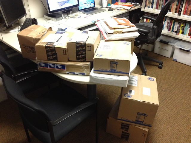 Packages in My Office, July 2013