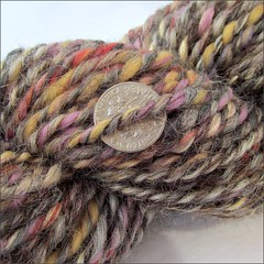 Wild and Natural handspun, close up