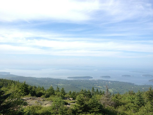 View of Bar Harbor