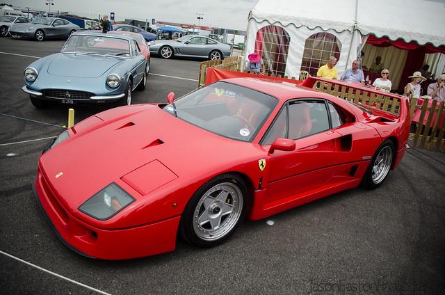 F40, Silverstone Classic.