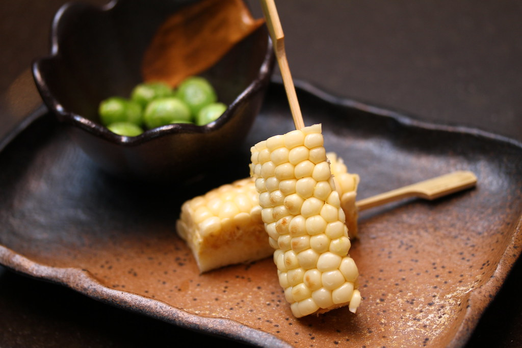Tamashii Robataya: Bi-coloured corn
