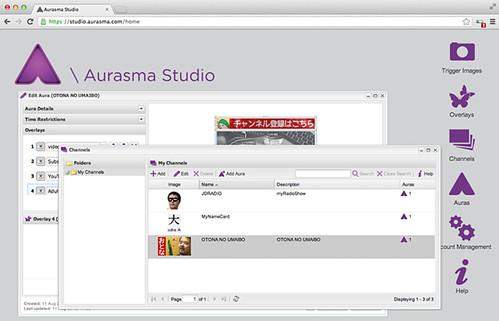 Aurasma Studio