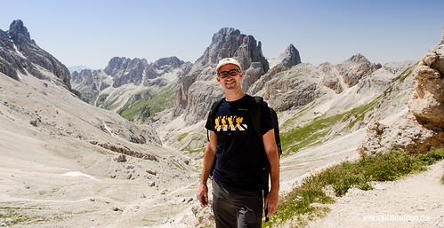 Dolomites - Val di Fassa - Vinicio Capossela at Vajolet 01