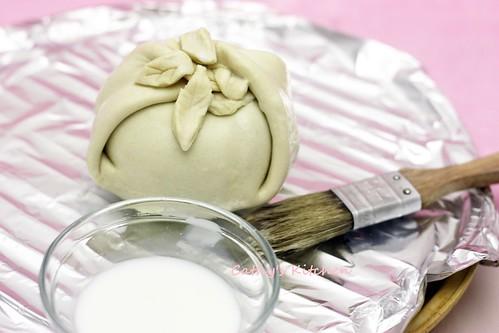 蜜桃酥烤包 Peach Dumpling 13