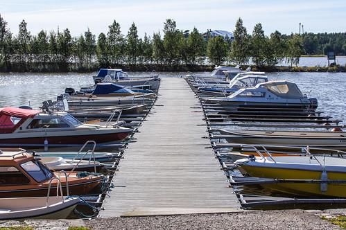 A pier in Vaasa