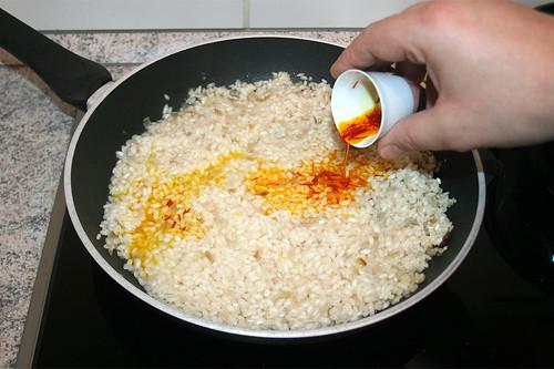 25 - Safran hinzufügen / Add saffron