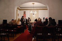 Promocija knjige RING u Udruženju književnika Srbije 2012.