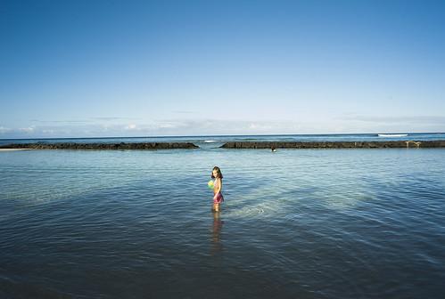 Mornig of Waikiki Beach / LEICA M8 + ELMARIT-M 21mm F2.8