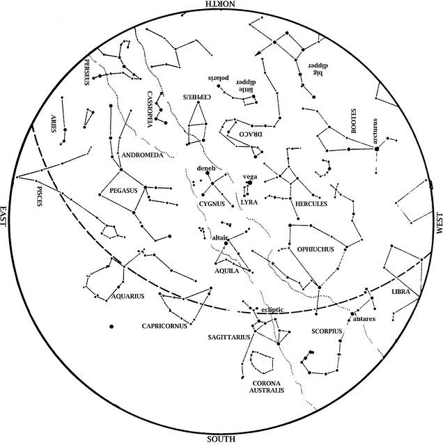 Sky Map: September 2013