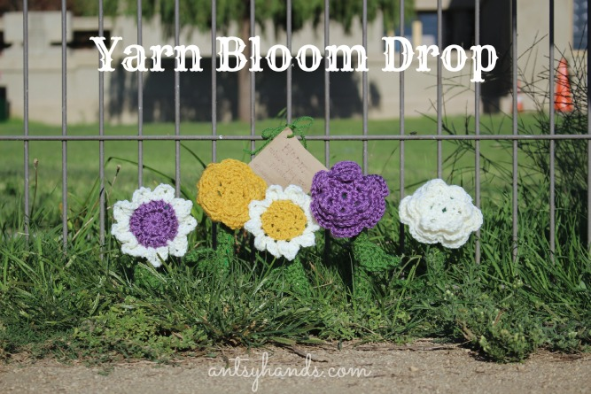 Yarn Bloom Drop || AntsyHands.com
