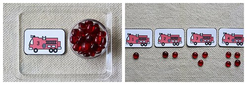 Fire Engine Cards and Counters