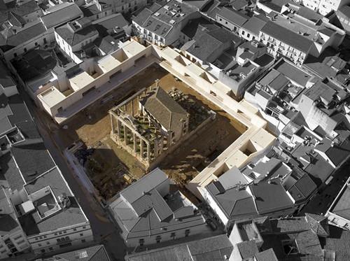 Templo de diana_foto aérea (fuente estudio JSMG)