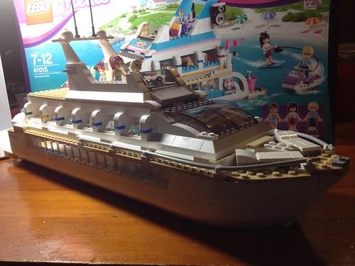 Lego Dolphin Cruiser 41015De-Freinding and extending.