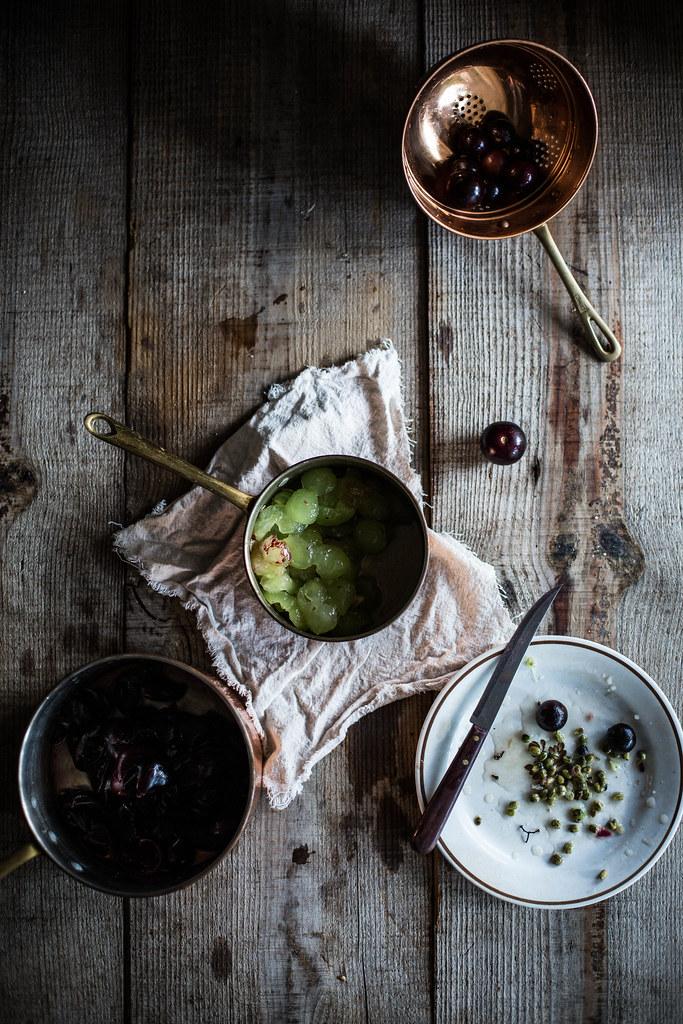 muscadine, sage, & rose hand pies