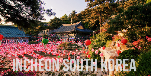 incheong south korea tourist spots
