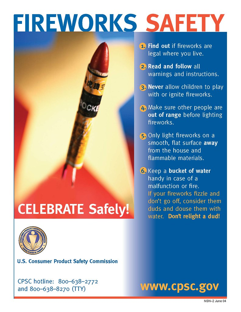 Six fireworks safety tips