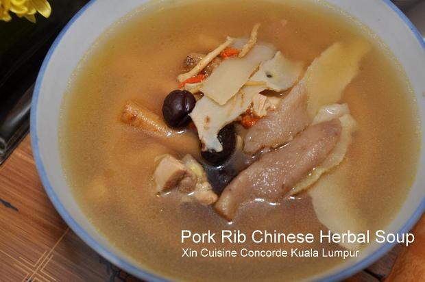 Prok Rib Herbal Soup Xin Concorde Kuala Lumpur