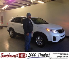 #HappyBirthday to Ruben Baez from Silva Fernando  at Southwest Kia Dallas!