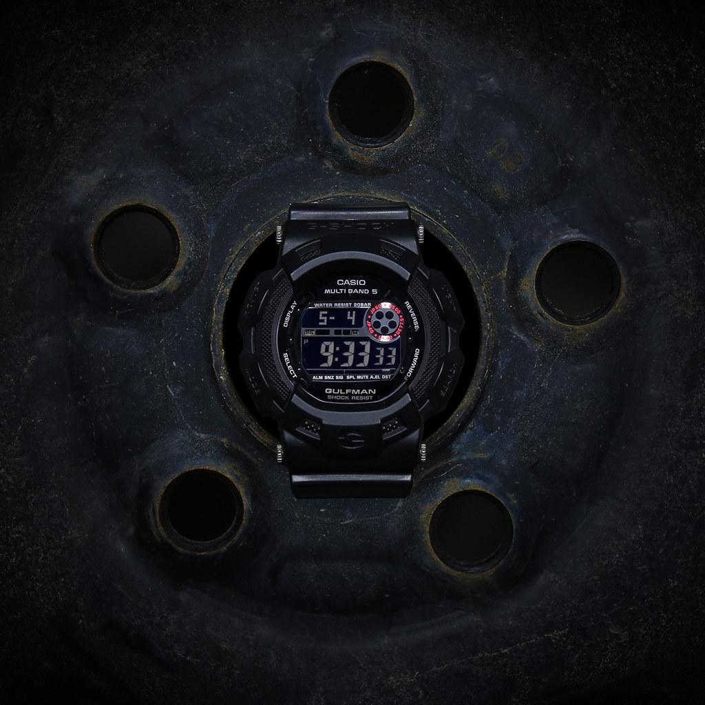 G-Shock Gulfman GW-9100MB-1JF: Men In Matte Black