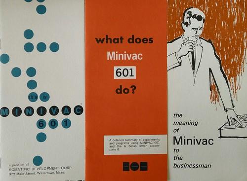 Minivac brochures