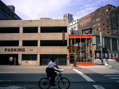 Biking, parking, hipsters