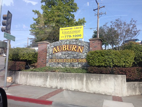 Auburn the Tacoma of California by mikey and wendy