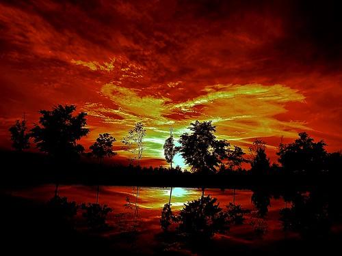 sunset españa sol wonderful spain zaragoza aragon nwn wonderful2 zaragozaparque platinumpeaceaward portalealba